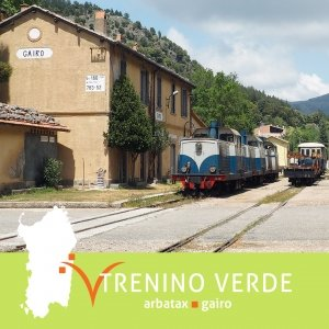Trenino Verde della Sardegna Arbatax Gairo